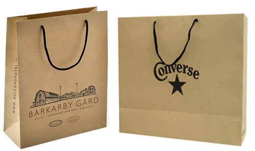 luxury brown kraft bags
