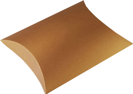 recycled kraft pillow boxes