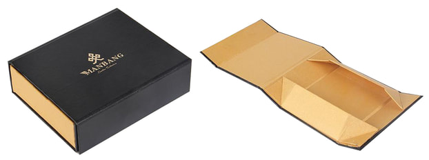 custom made foldable rigid boxes
