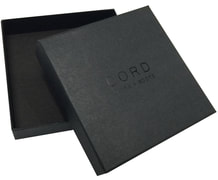 luxury rigid gift boxes with embossed logo