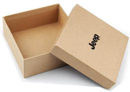 Kraft Rigid Boxes With Printed Logo
